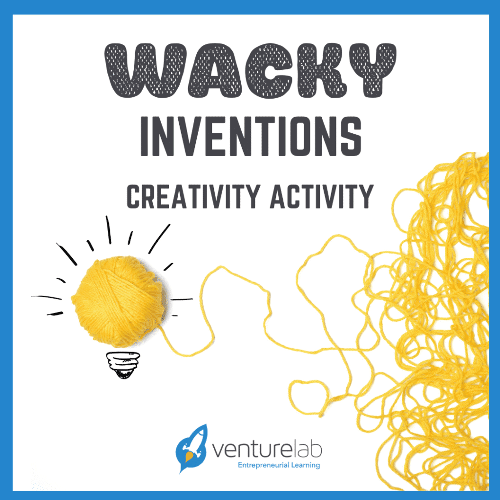 Wacky Inventions Activity for Learning Pods