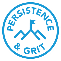 persistence & grit are part of having a growth mindset