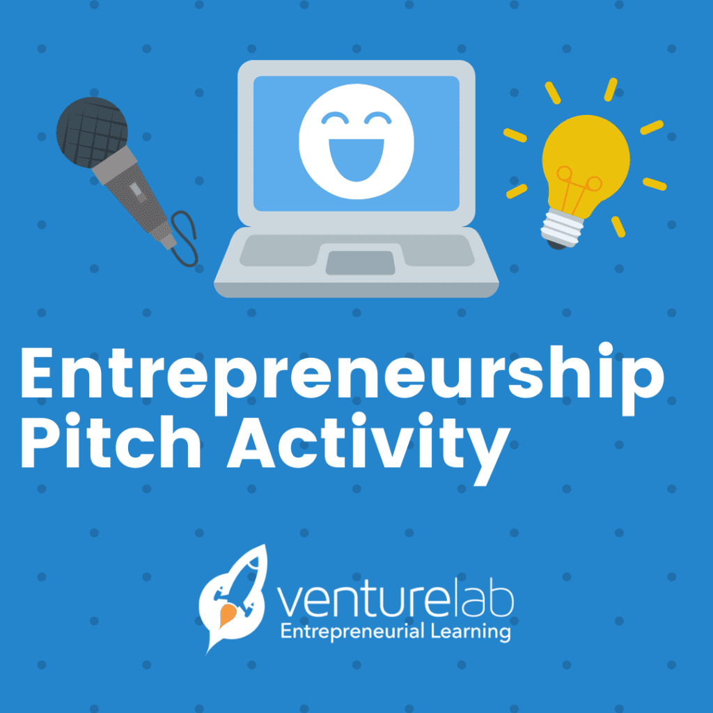 Entrepreneurship Pitch Activity for Learning Pods
