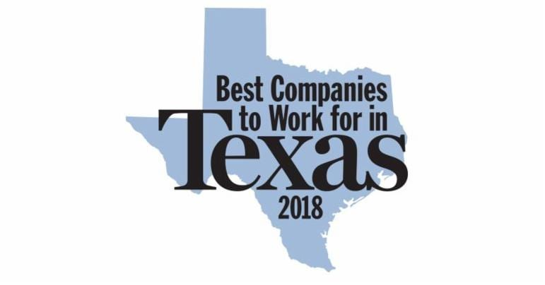 best companies to work for in texas 2018