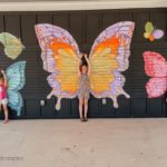 butterfly mural flutterby theater