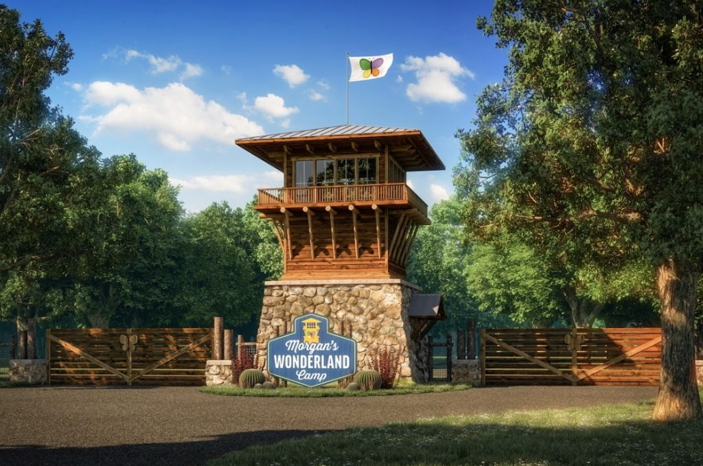 Entrance tower at Morgan's Wonderland Camp picture